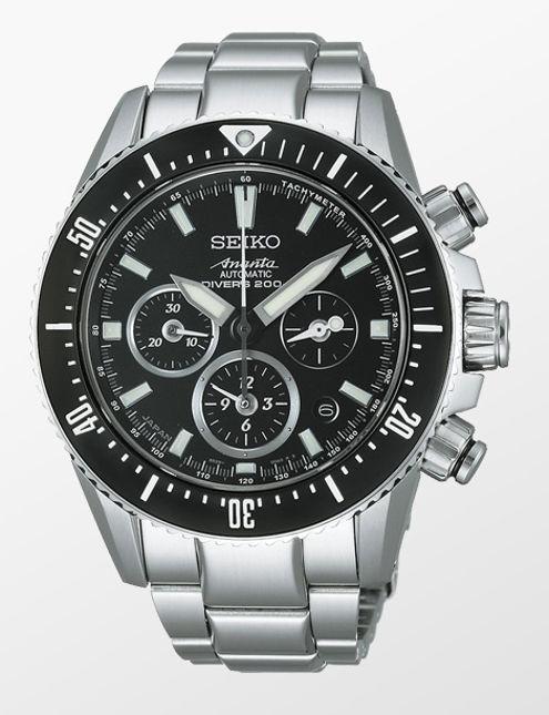 Seiko Ananta Automatic Chronograph Divers SAEK013 Men's ...