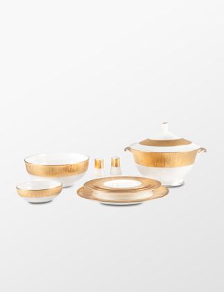 Narumi Bone China Gold Bamboo 83 Parça Yemek Takımı 95720-53283