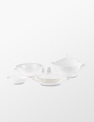 Narumi Bone China Lotus White 83 Parça Yemek Takımı 8740-53416