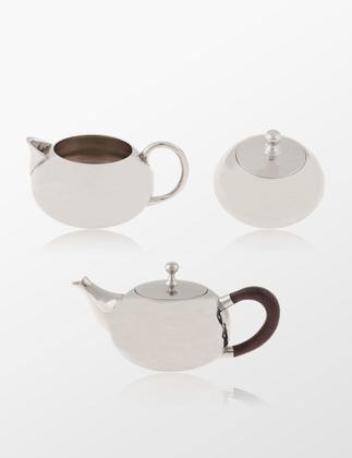 Woods Home Gümüş Çay Seti w000047