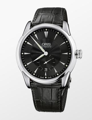 Oris Artelier Small Second, Date 01 623 7582 4074-07 5 21 71FC