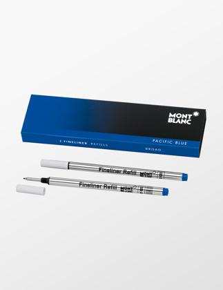 Montblanc 2 Fineliner Refills (B) Pasific Blue 105171