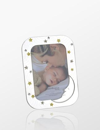 Reed & Barton Yıldızlı Dikdörtgen Bebek Çerçevesi REEDBARTON5246