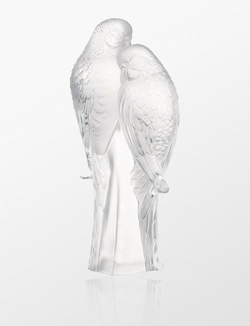 Lalique 2 Muhabbet Kuşu Heykeli Lal1211900 Alwaysfashioncom
