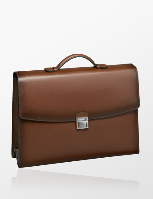 3e5315075f Montblanc Meisterstück Selection Sfumato Single Gusset Briefcase ...