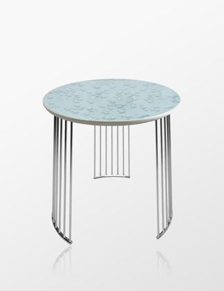 Lladró Crystal Moment Table Chrome Metal 01040222