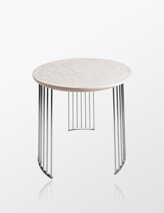 Lladró Frost Moment Table Chrome Metal 01040224