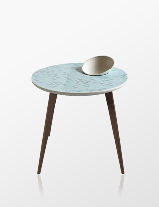 Lladró Crystal Moment Table With Bowl Wenge 01040219