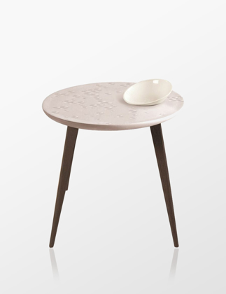 Lladró Frost Moment Table With Bowl Wenge 01040225