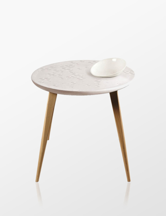 Lladró Frost Moment Table With Bowl Oak 01040226