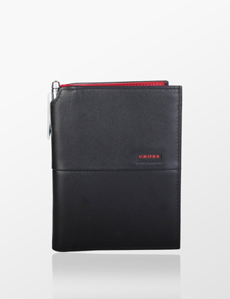 Cross Siyah Kırmızı Pasaportluk AC048173-4