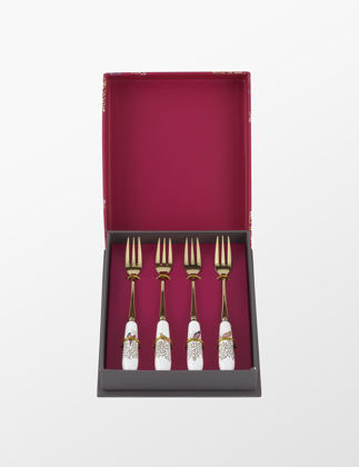 Sara Miller London Portmeirion Chelsea Pasta Çatalı 4'lü Set RW.SMC1102-XG