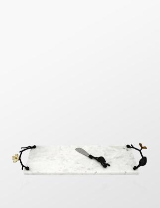 Michael Aram Dogwood Peynir Tabağı ve Bıçağı IN.ARAM.123067