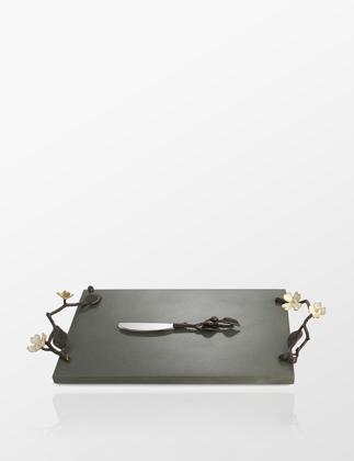Michael Aram Dogwood Peynir Tabağı ve Bıçağı IN.ARAM.123058