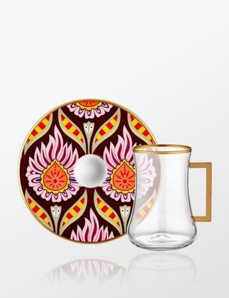 Koleksiyon Dervish Kulplu 6'lı Çay Seti Kandela 31000040807