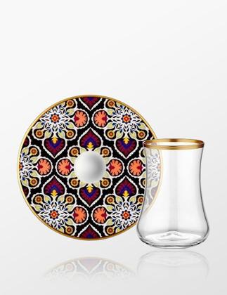 Koleksiyon Dervish 6'lı Çay Seti Terra 31000040706