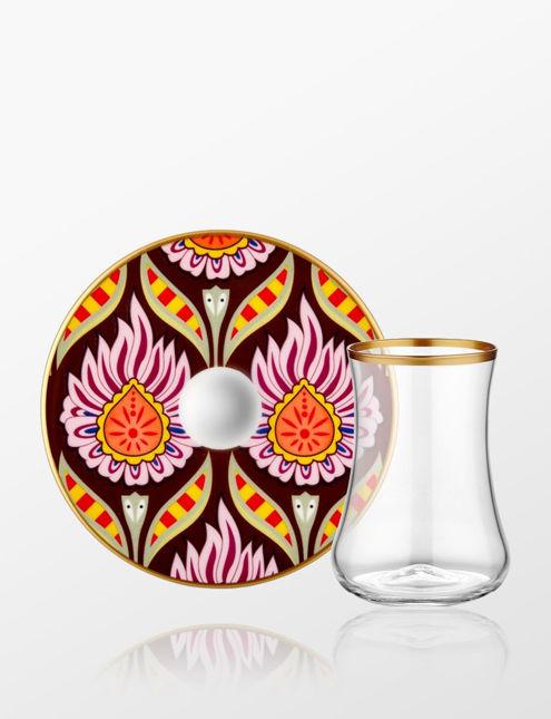 Koleksiyon Dervish 6'lı Çay Seti Kandela 31000040708