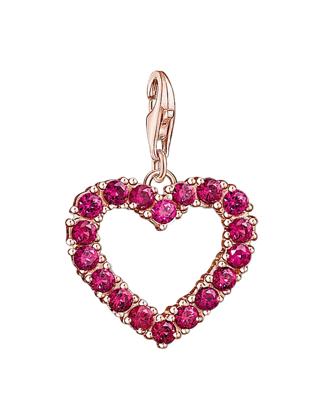 Thomas Sabo Red Heart Charm 1575-540-10