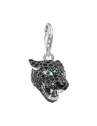 Thomas Sabo Black Cat Charm 1696-845-11