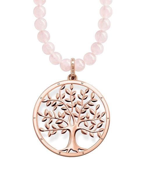 Thomas Sabo Power Necklace Tree of Love Pink Kolye KE1662-536-9-L60