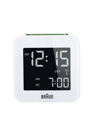 125f9b2ac57 Braun Alarm Digital Desk Clock White BNC008BWH