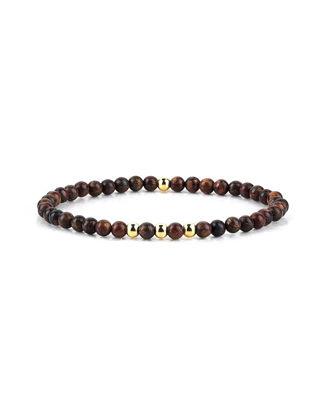 Atolyestone Minimalist Beaded Bracelet 11146-YG-BR