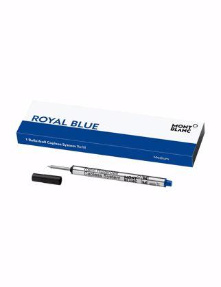 Montblanc Rollerball Kalem Capless System Refill (M), Royal Blue 124496