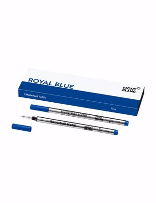 Montblanc Rollerball Kalem Refill (F), Royal Blue 124501