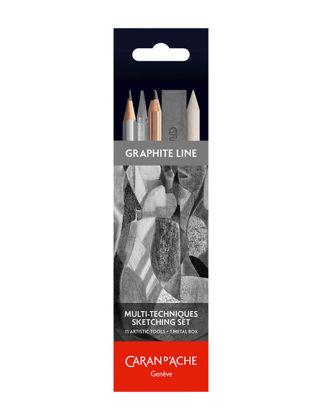 Caran D'ache Graphite Line Farklı Teknikler İçin Eskiz Seti 775.311
