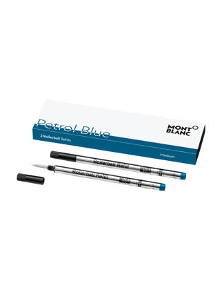 Montblanc 2 Roller Kalem Refill (M) Petrol Blue 119610