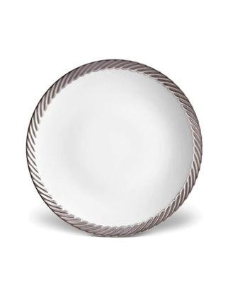 L'objet Corde Platinum Ekmek ve Yağ Tabağı LOBCR340