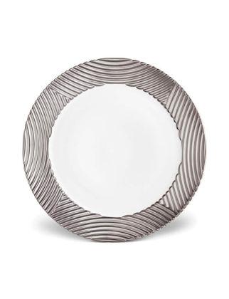 L'objet Corde Şeritli Platinum Yemek Tabağı LOBCR301
