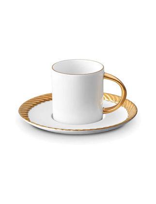 L'objet Corde Gold Türk Kahvesi Fincanı ve Tabağı LOBCR255