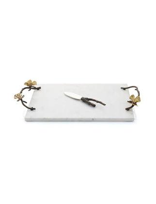Michael Aram Gold Kelebekli Peynir Tabağı ve Bıçağı IN.ARAM.175768