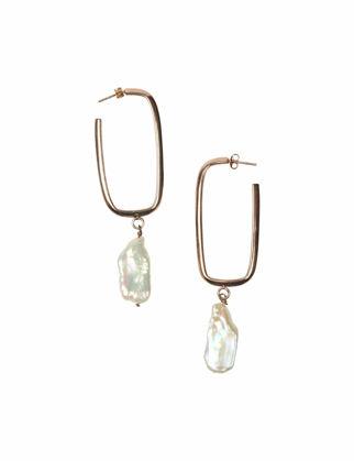 Lulu Jewelery Dikdörtgen Küpe LL-0114