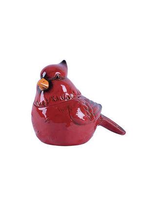 Transpac Cardinal Kırmızı Kuş Bisküvi Kavanozu TRANSPACY2881