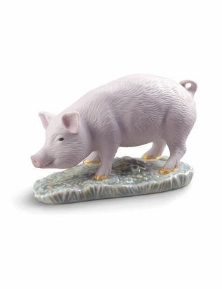 Lladró The Pig Mini Biblo 01009121