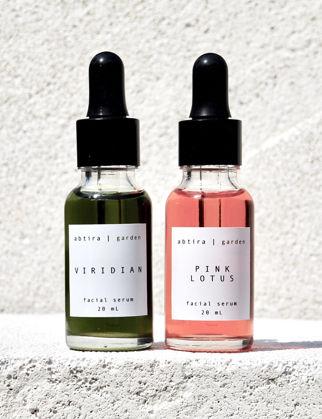 Abtira Garden Viridian + Pink Lotus Karma Cilt için Serum Paketi (Çift) V-SE20 / PL-SE20