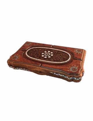 Helena Wood Art Ottoman Grand Sedef Mozaik Tavla - Gül 2285.ROS