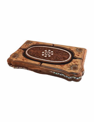 Helena Wood Art Ottoman Grand Sedef Mozaik Tavla - Mazel 2285.MAZ