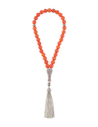 Kiswah Jewellery Kesimli Kırmızı Akik 8 mm OR-032-027-001