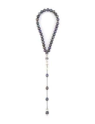 Kiswah Jewellery Mavi Yeşil İnci Tesbih 8.5 mm OR-020-005-001