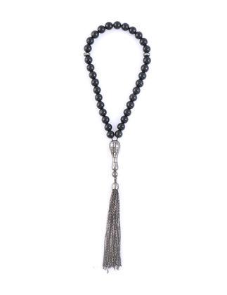 Kiswah Jewellery Parlak Oniks Tesbih 8 mm OR-032-001-001