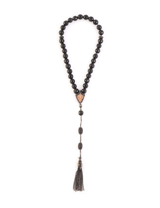 Kiswah Jewellery Parlak Oniks Tesbih 8 mm OR-032-005-003