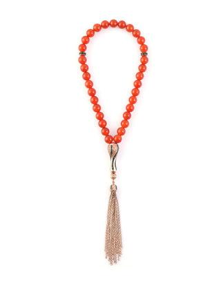 Kiswah Jewellery Kırmızı Akik 8 mm OR-032-011-001