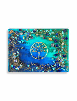 Recinart Hayat Ağacı Sunum Tepsisi (Dikdörtgen) 11011