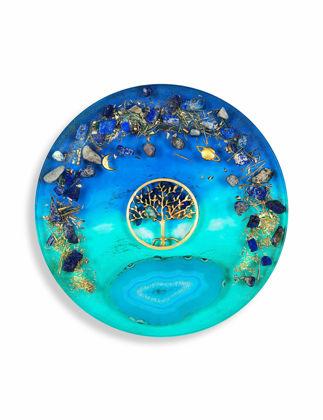 Recinart Hayat Ağacı Büyük Sunum Tepsisi 11689