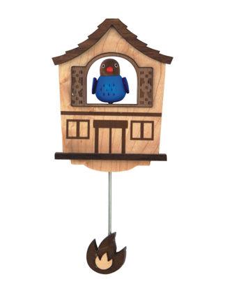 Wooderful Life Kuş Ahşap Magnet 1050104