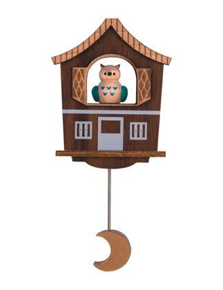 Wooderful Life Baykuş Ahşap Magnet 1050103