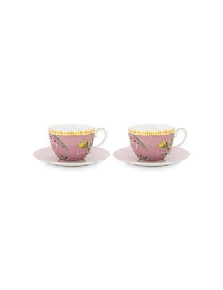 Pip Studio La Majorelle Pembe Çay Fincanı Seti 2'li 280 ml 51004100